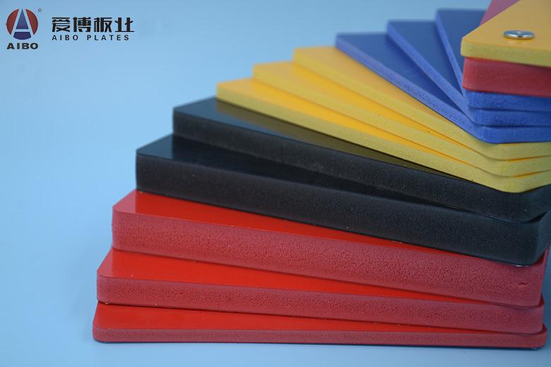PVC共挤颜色板